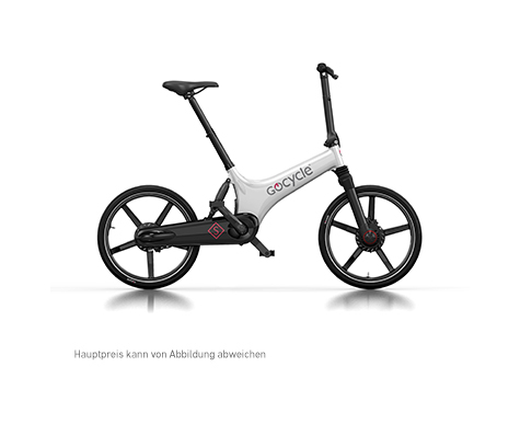 Gocycle Weiß MitText